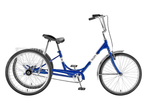Sun Tricycle Blue