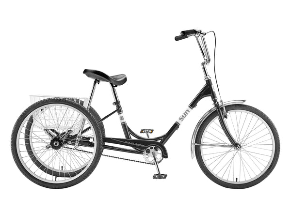 Sun Tricycle Black