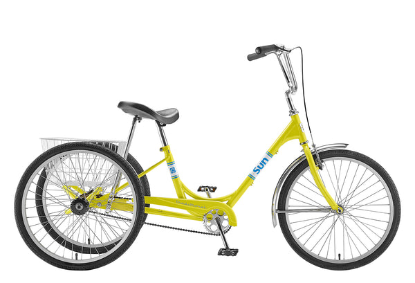 Sun Tricycle Yellow