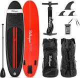 Retrospec Weekender MSL Black & Red Paddleboard