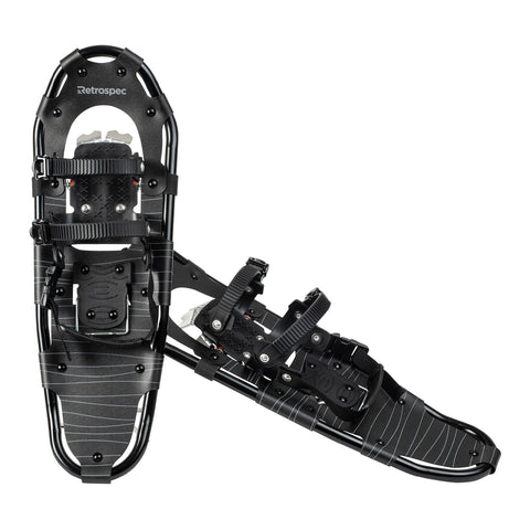 Retrospec Lynx Snowshoes Black