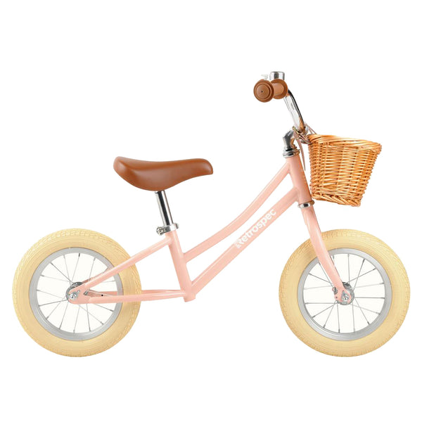 Retrospec Baby Beaumont Balance Bike Blush Pink