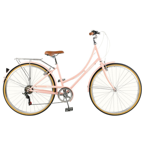 Retrospec Beaumont Step Through 7 Speed Blush Pink