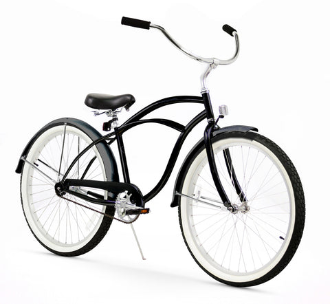 Black Firmstrong Beach Cruiser (Men's)