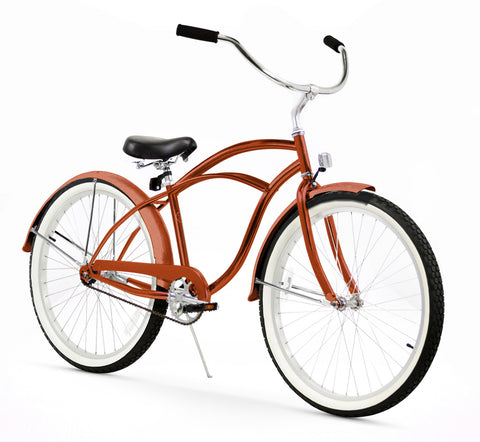 Gloss Brown Firmstrong Beach Cruiser (Men's)