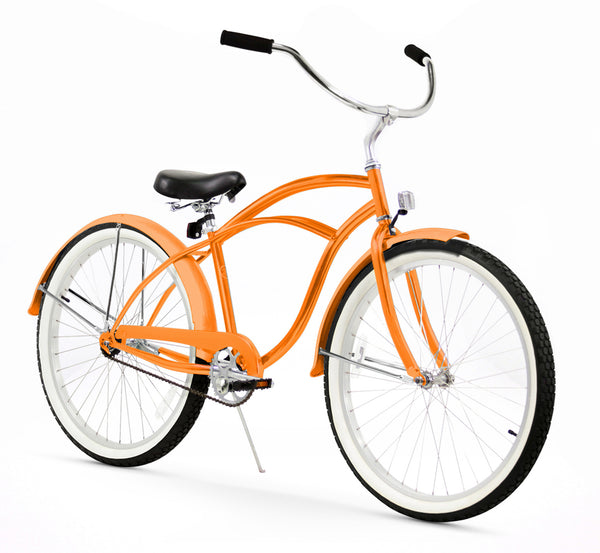 Orange Firmstrong Beach Cruiser (Men's)
