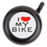 Sunlite 'I Love My Bike' Bell - White Pine Bicycle Co.  - 2