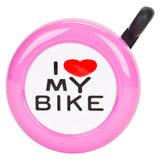 Sunlite 'I Love My Bike' Bell - White Pine Bicycle Co.  - 4