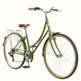 Retrospec Beaumont Step Through 7 Speed Olive