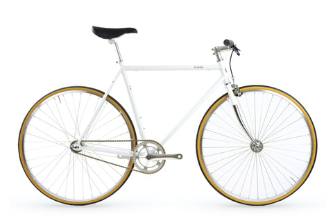 Lochside Single Speed Commuter White