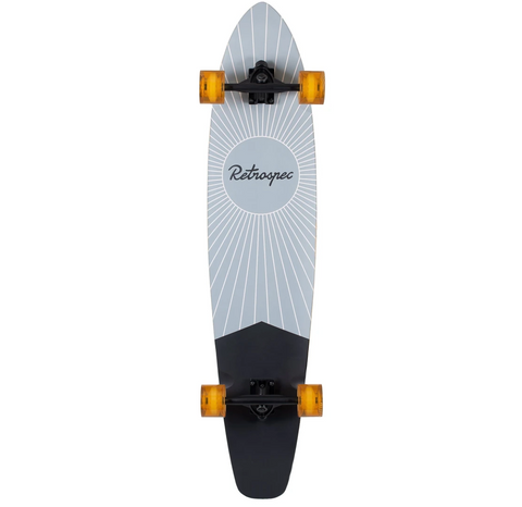 Retrospec Zed Longboard Pewter Pointe 44""