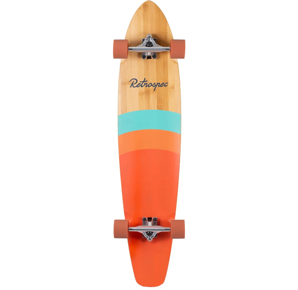 Retrospec Zed Longboard Golden Sunset 44""