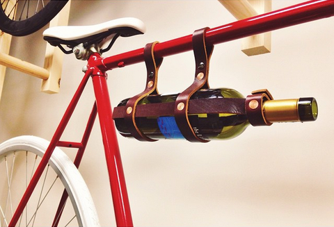 Leather Wine Bottle Holder