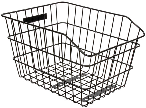 Sunlite Rack Top Wire Fixed Rear Basket - White Pine Bicycle Co.