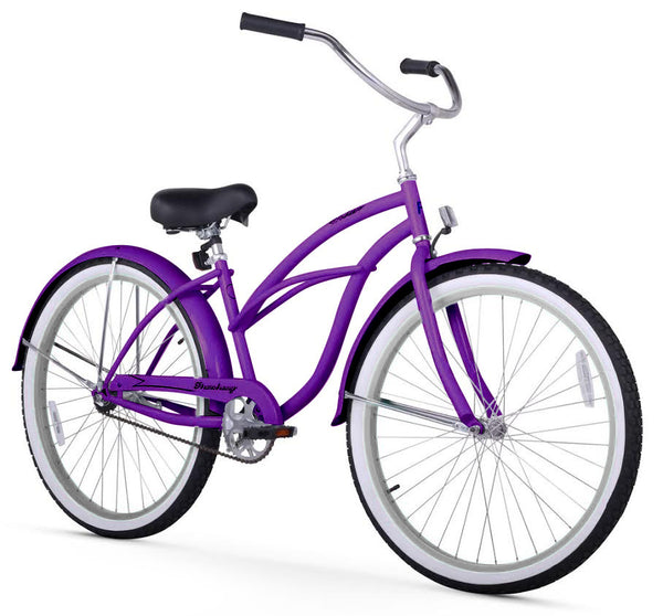 Purple Firmstrong Beach Cruiser