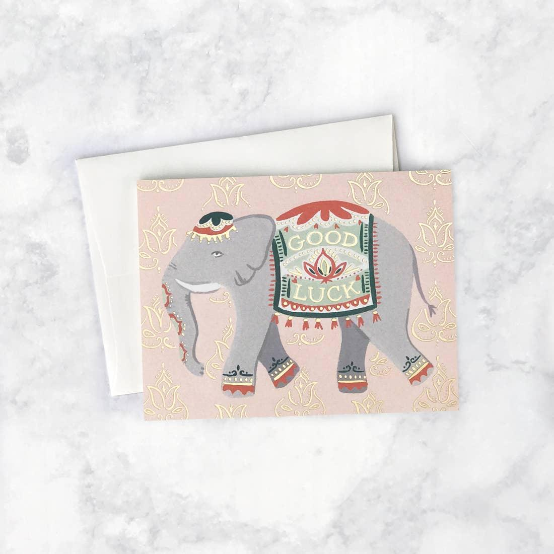 Lucky Elephant Card