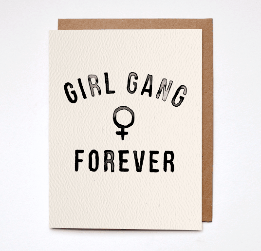 Girl Gang Forever Card