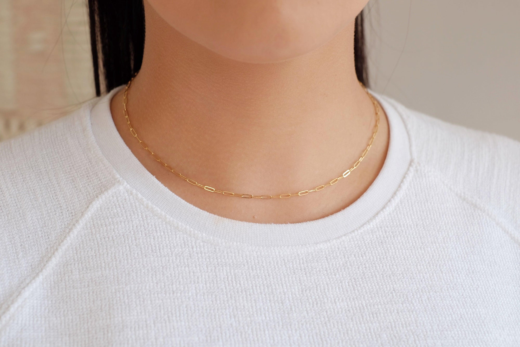 Gold Filled Connection Necklace