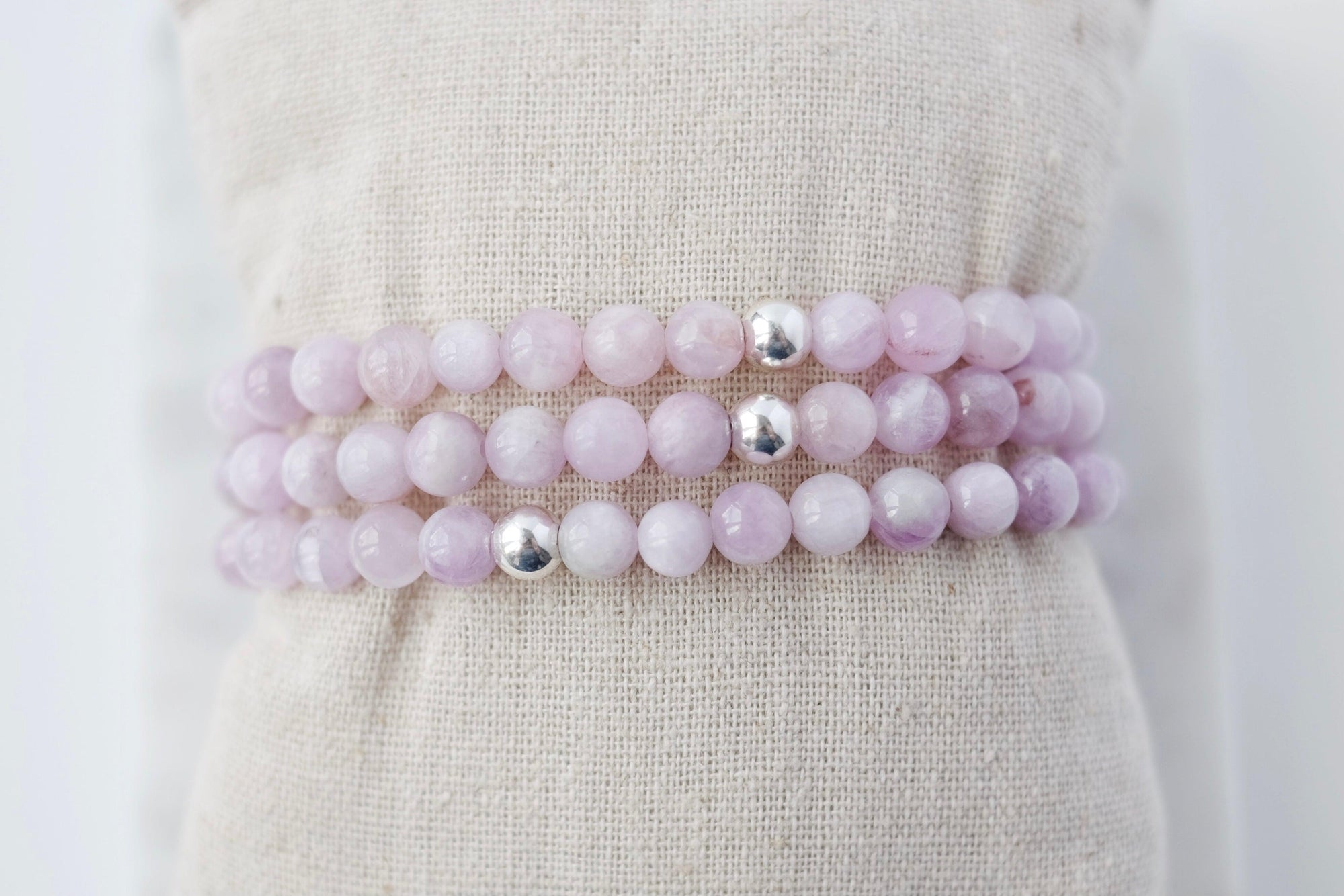 Light Kunzite Bracelet
