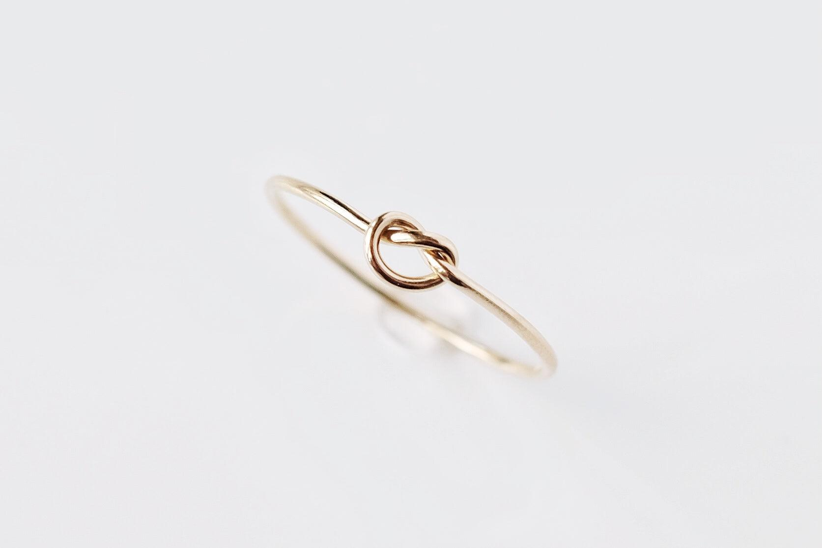 Gold Filled Knot Ring