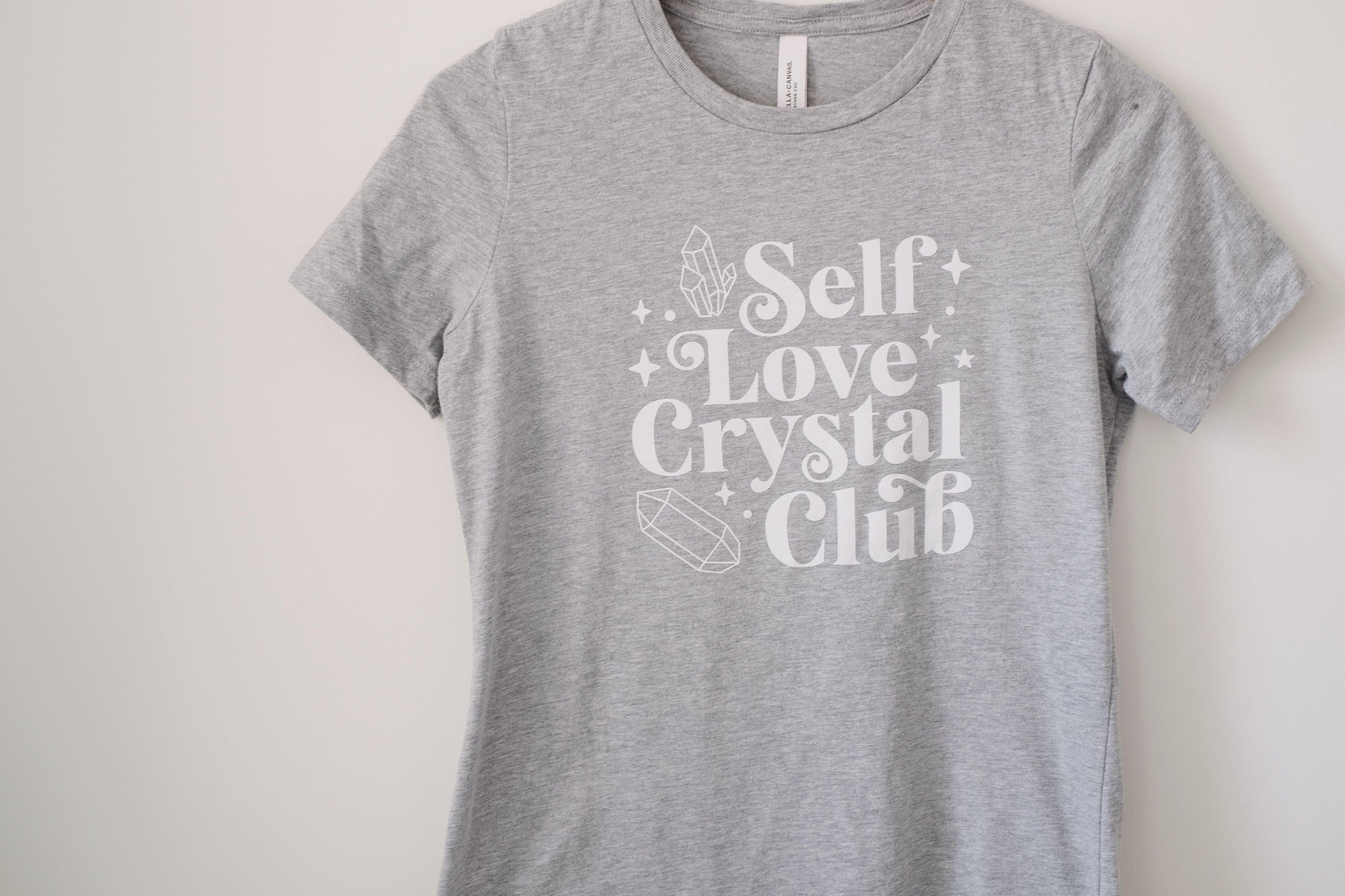 Self Love Crystal Club Fit T-Shirt