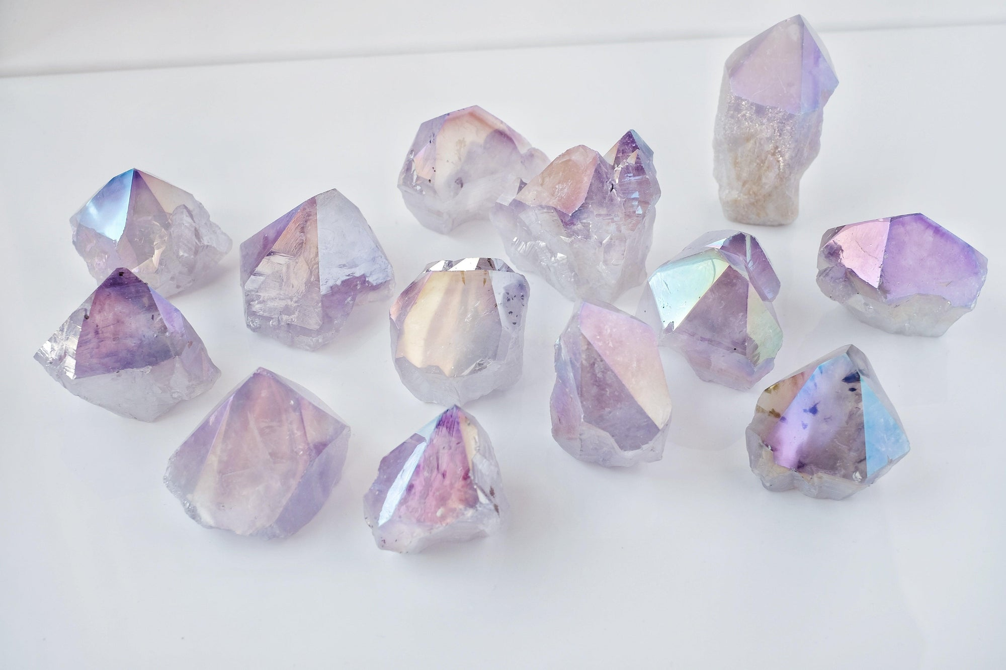 Aura Amethyst Point