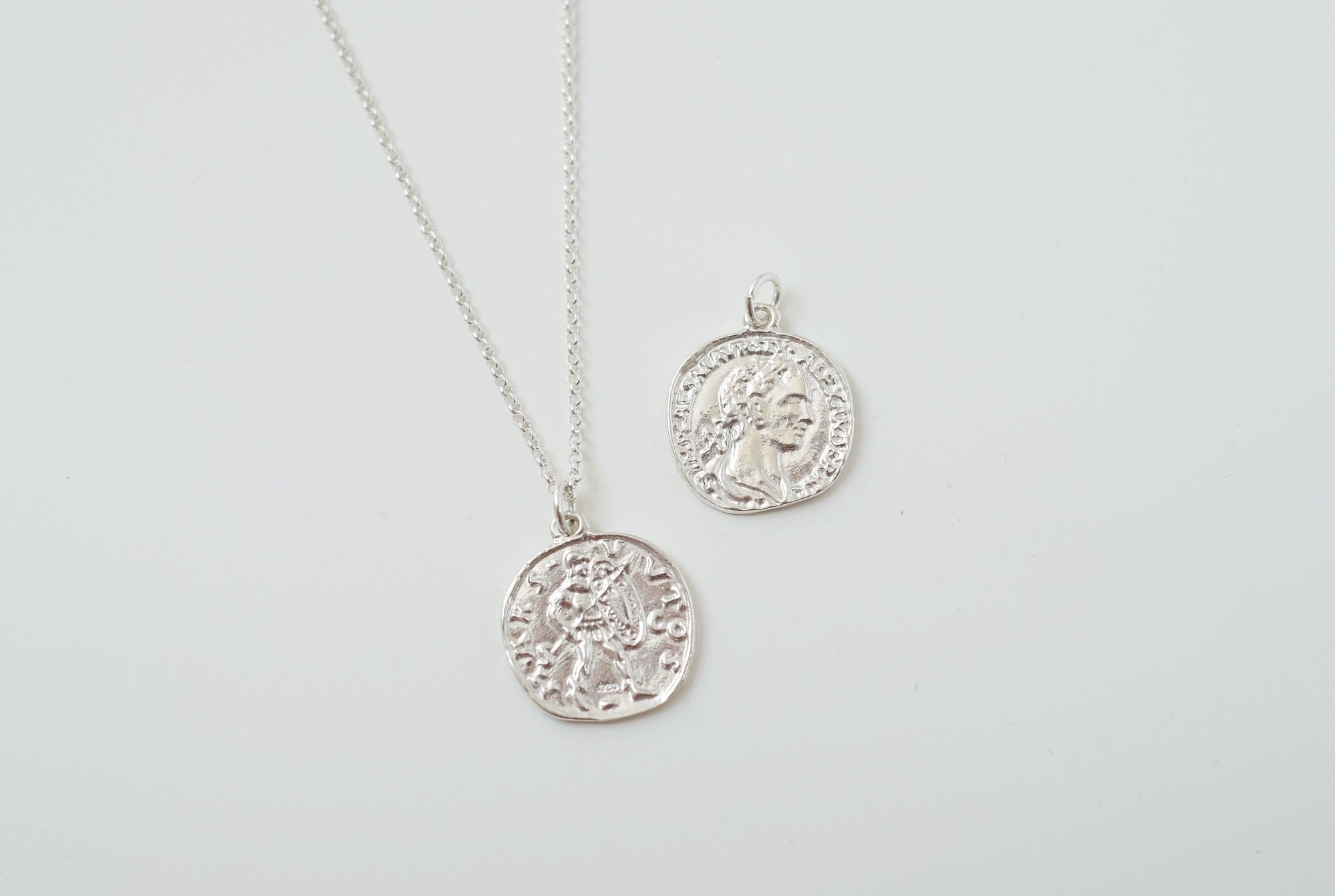 Mars Coin Necklace
