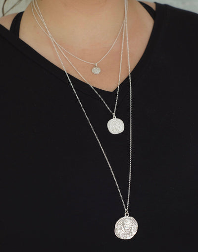 Denarius Coin Necklace
