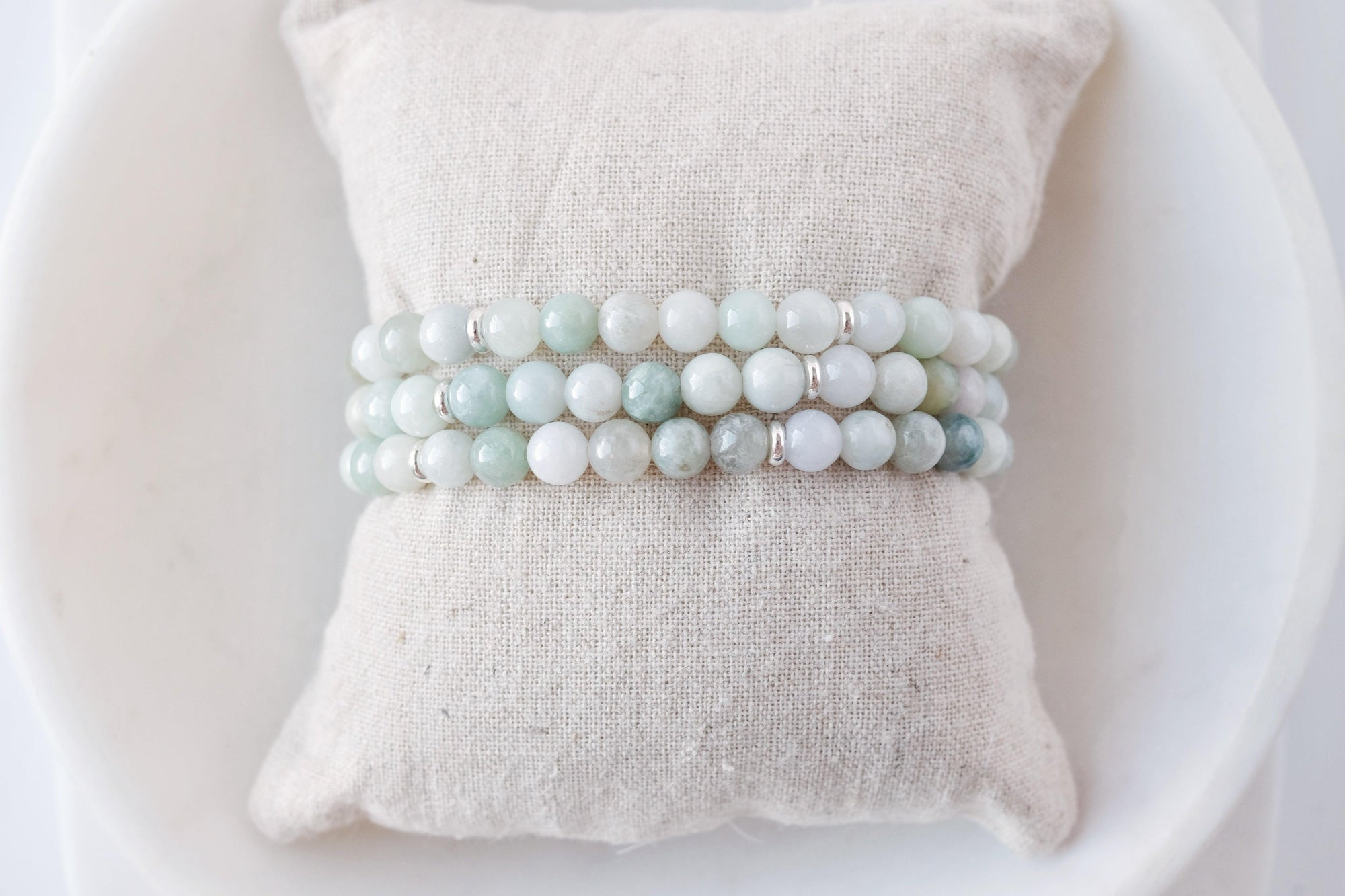 Light Green Jade Bracelet