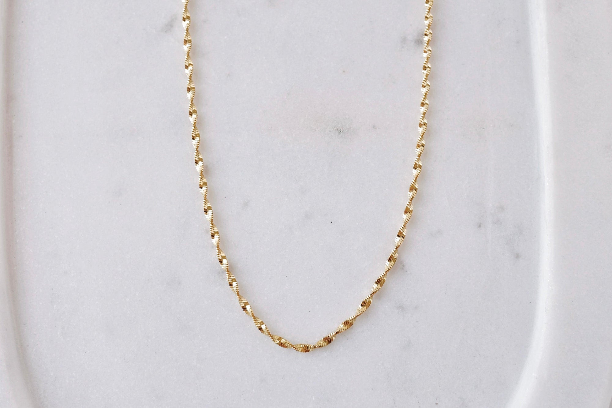 Gold Flourish Necklace