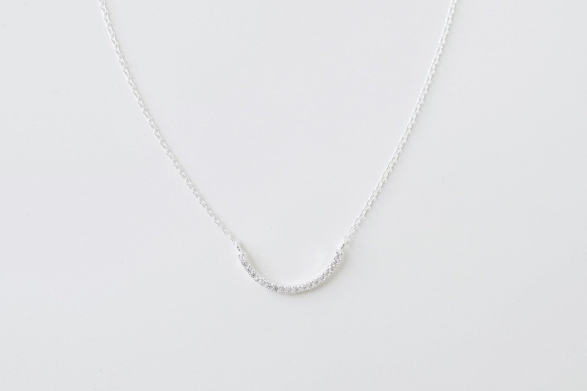 Crystal Curve Necklace