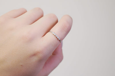 Silver Etta Stacking Band