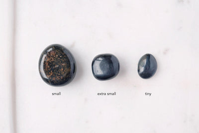Blue Tigers Eye Tumbled Stone