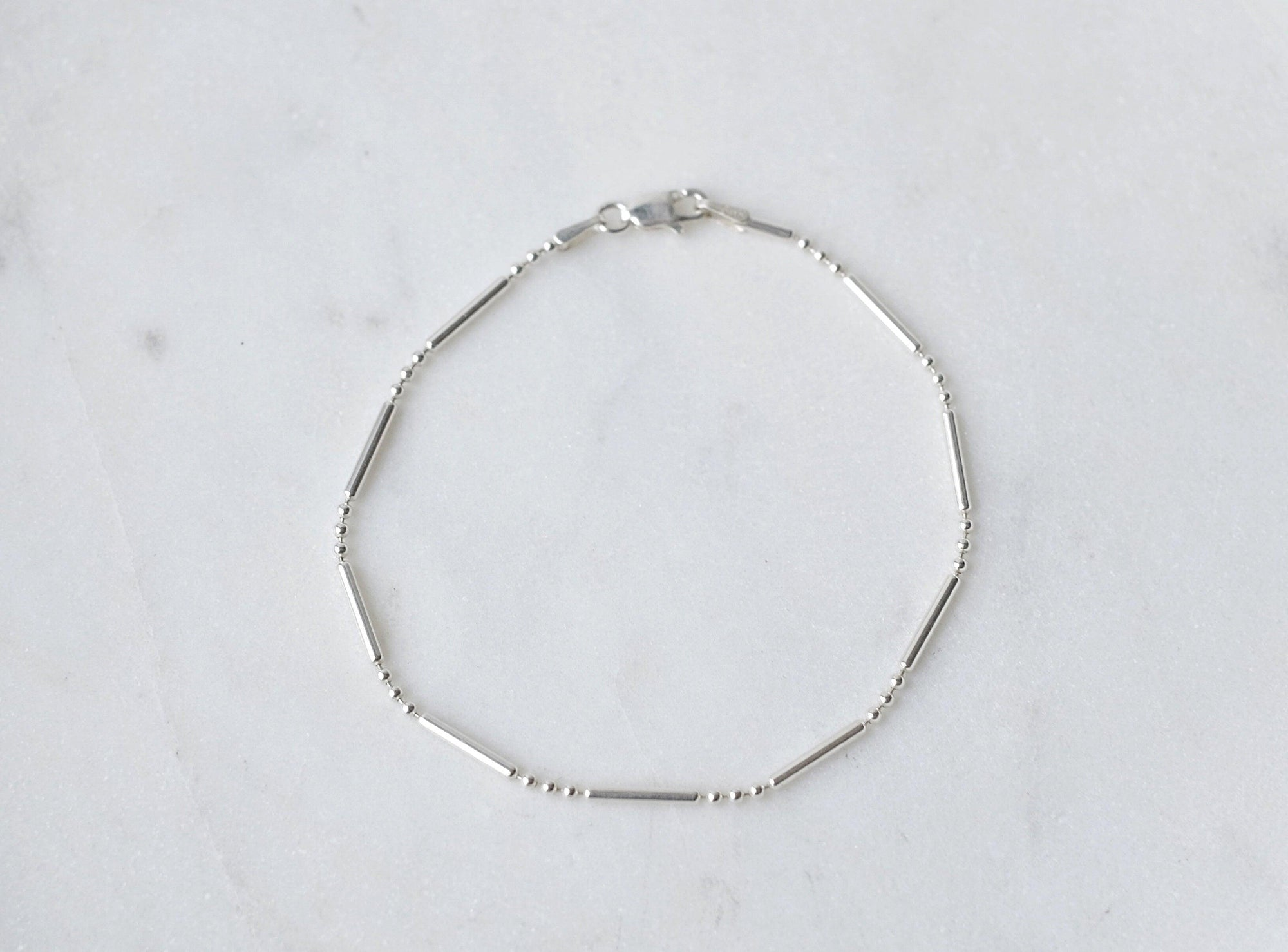 Dots & Dashes Chain Bracelet
