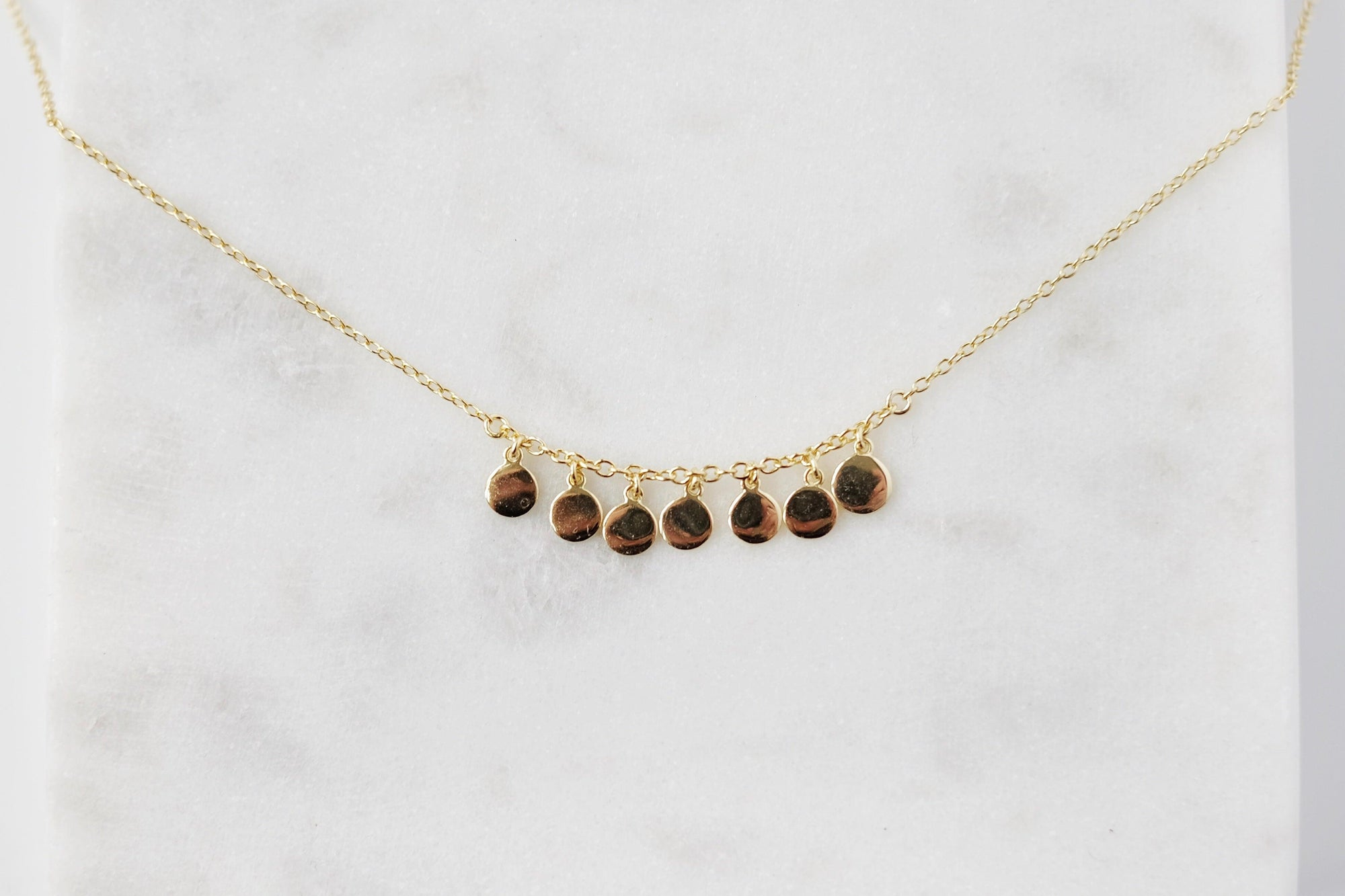 Gold Droplet Necklace