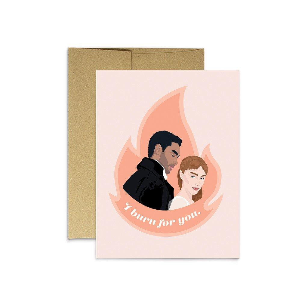 'Burn For You' Card