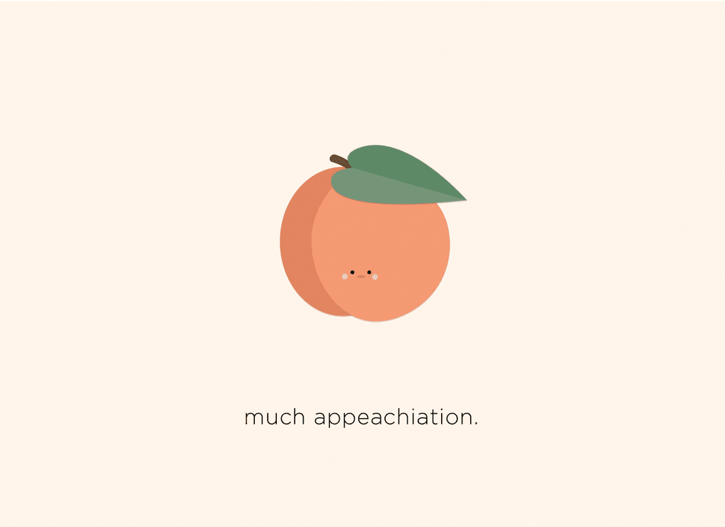 Much appeachiation Card
