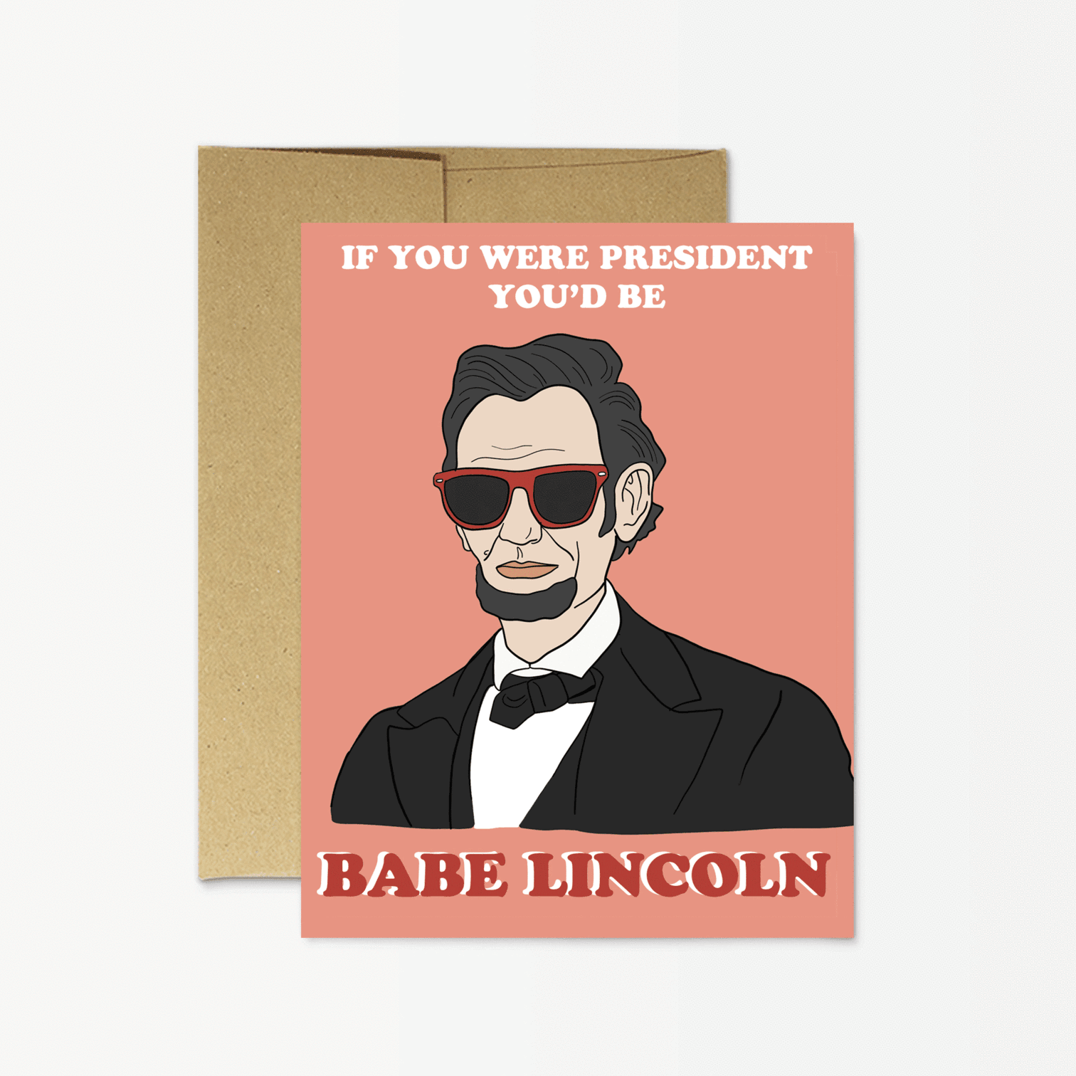 'Babe Lincoln' Card
