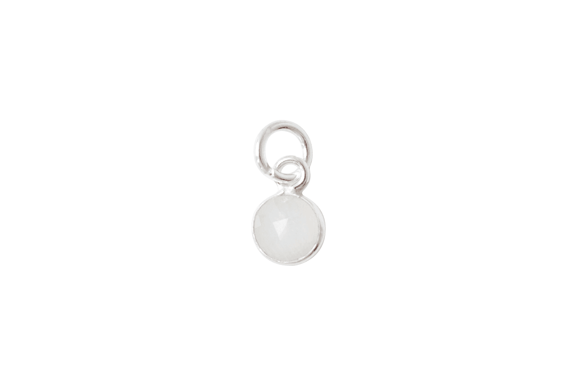 Moonstone Charm (April, June)