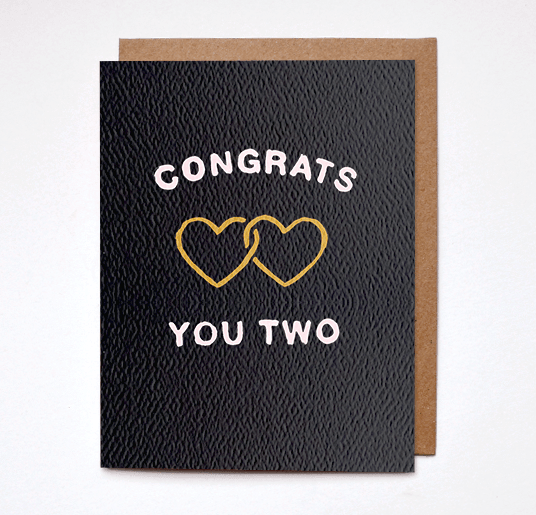 Congrats You Two Card