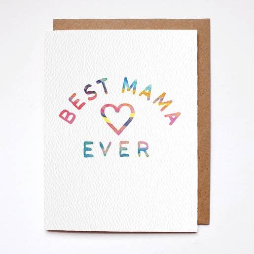 Best Mama Ever Card