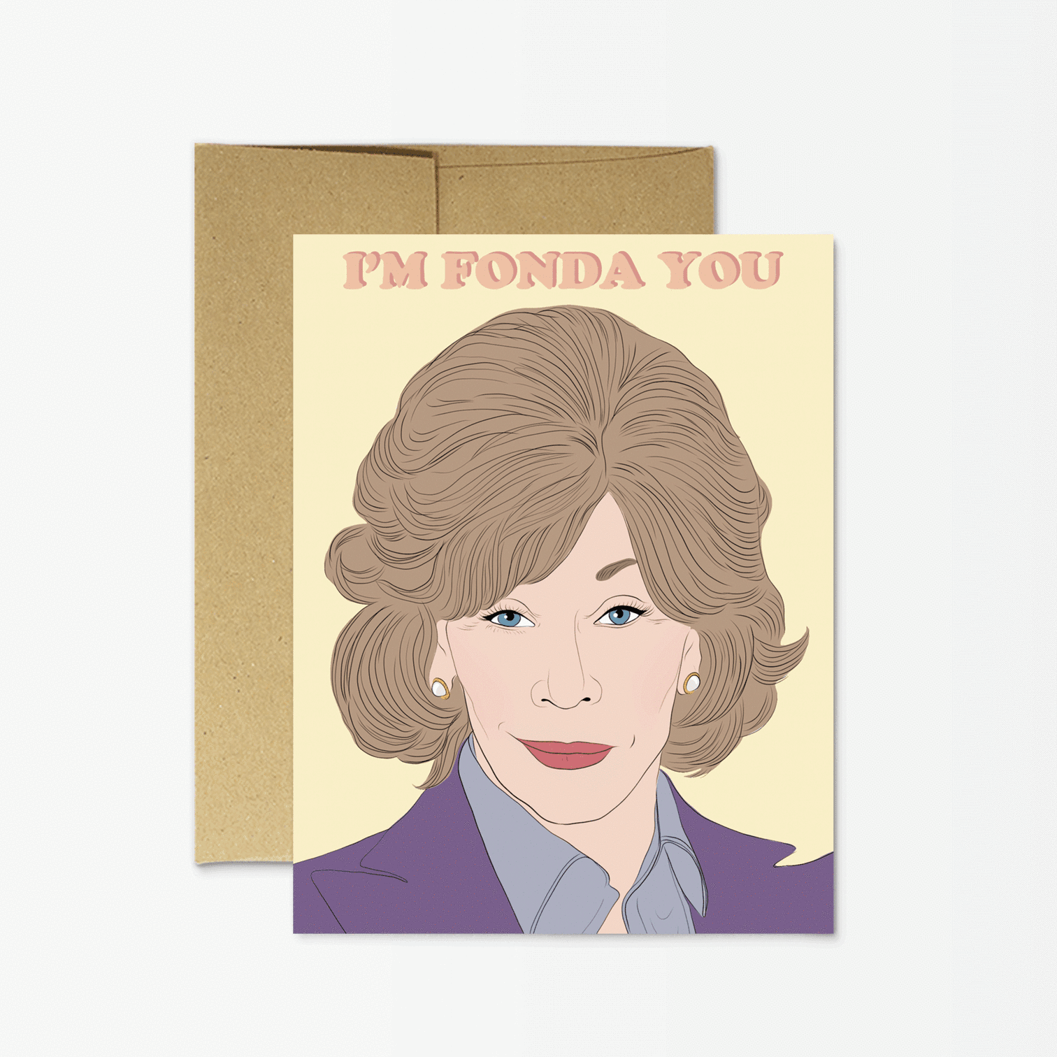 Jane 'I'm Fonda You' Card