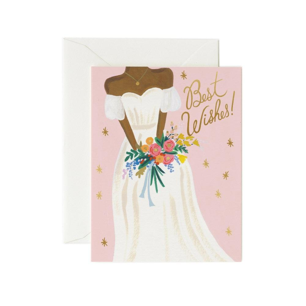 Best Wishes Bride Card