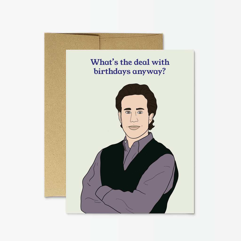 'Jerry Seinfeld Birthday' Card