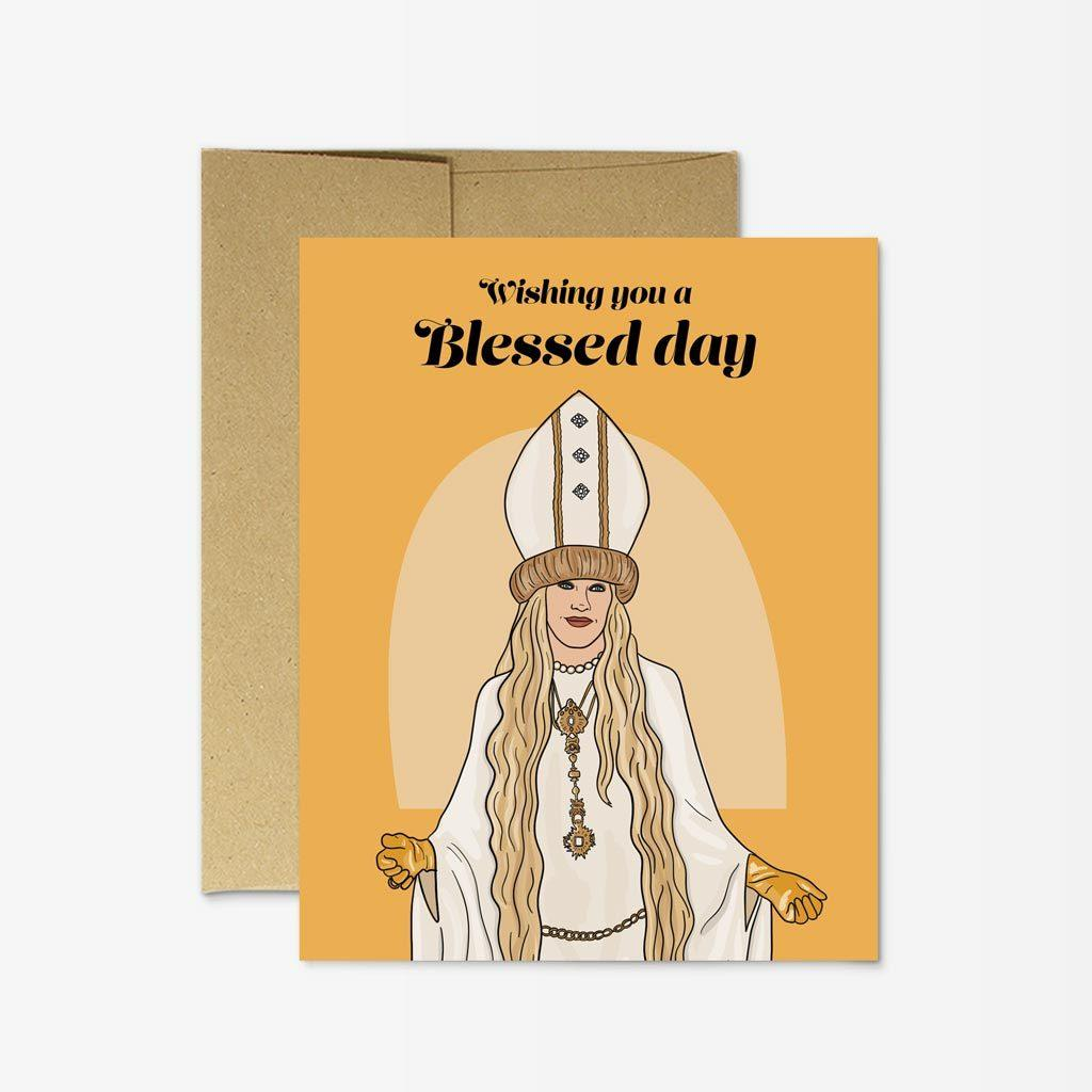 Moira 'Blessed Day' Card