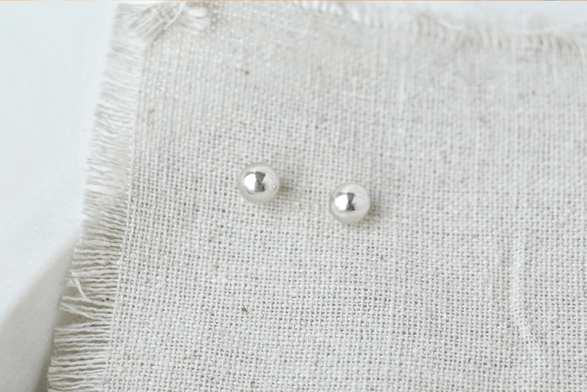 6mm Ball Earrings