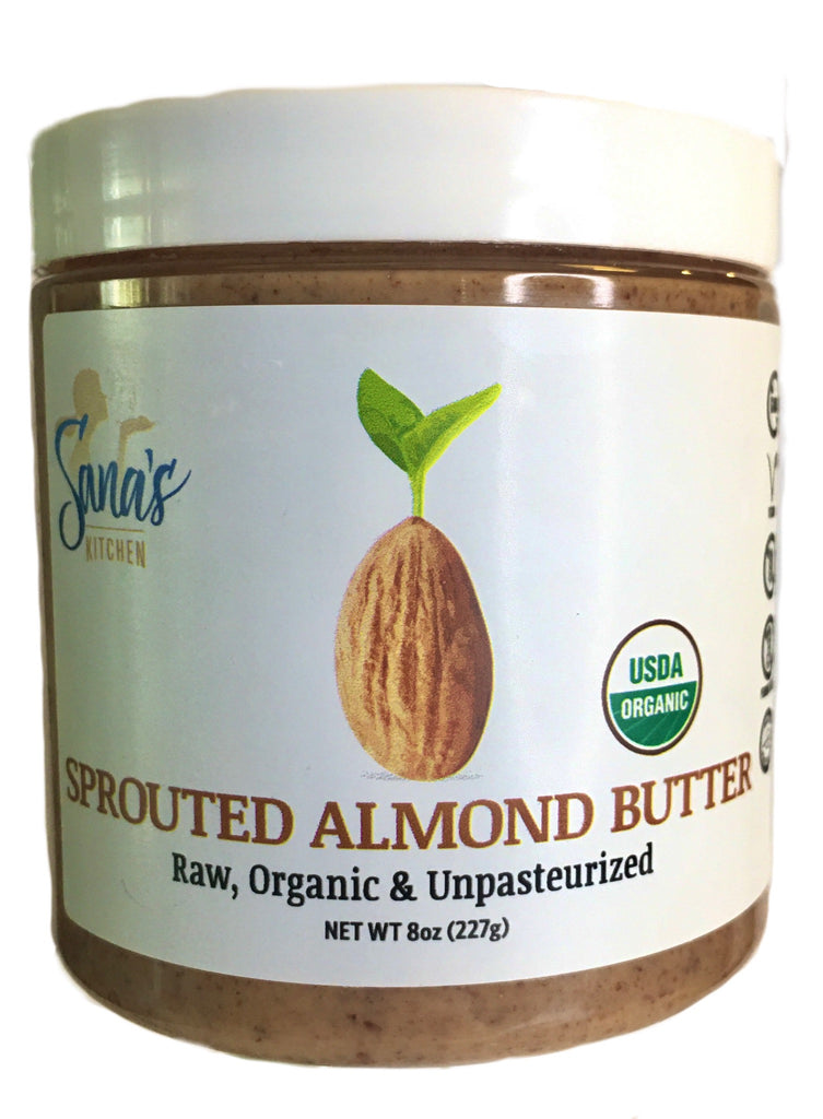 Sprouted Almond Butter - Available on Amazon Prime & private retailers