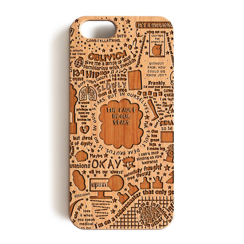 Wood Case, The Fault In Our Stars Wood-Pattern Case For iPhone 6 7 Case 4.7'' iPhone 6 7 Plus Case 5.5''