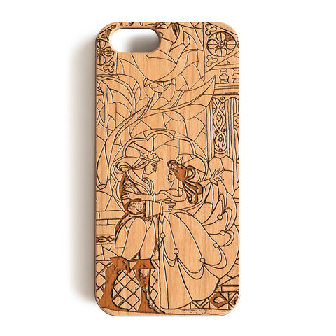 Wood Case, Beauty and the Beast  Wood-Pattern Case For iPhone 6 7 Case 4.7'' iPhone 6 7 Plus Case 5.5''