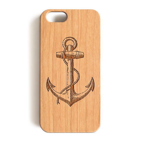 Wood Case, The Anchors Wood-Pattern Case For iPhone 6 7 Case 4.7'' iPhone 6 7 Plus Case 5.5''